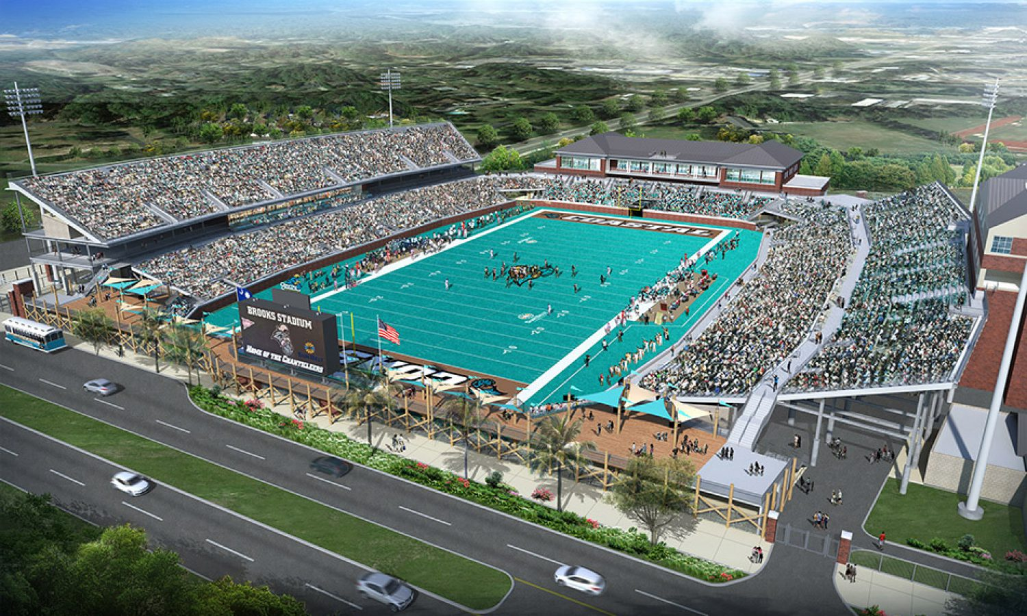 Coastal Carolina University – Brooks Stadium