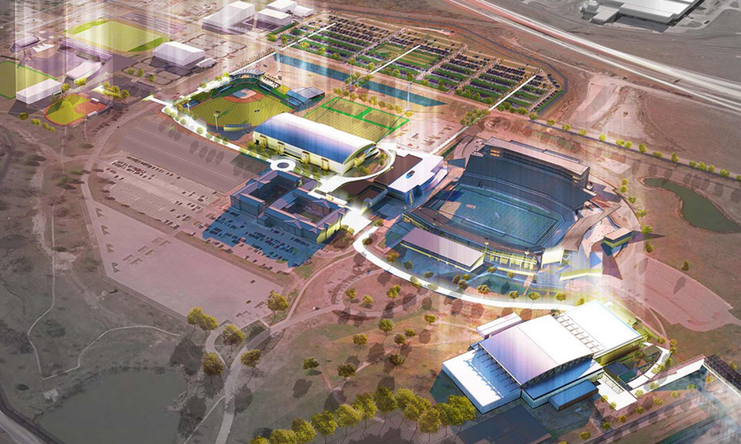 University of North Texas – Athletic Master Plan