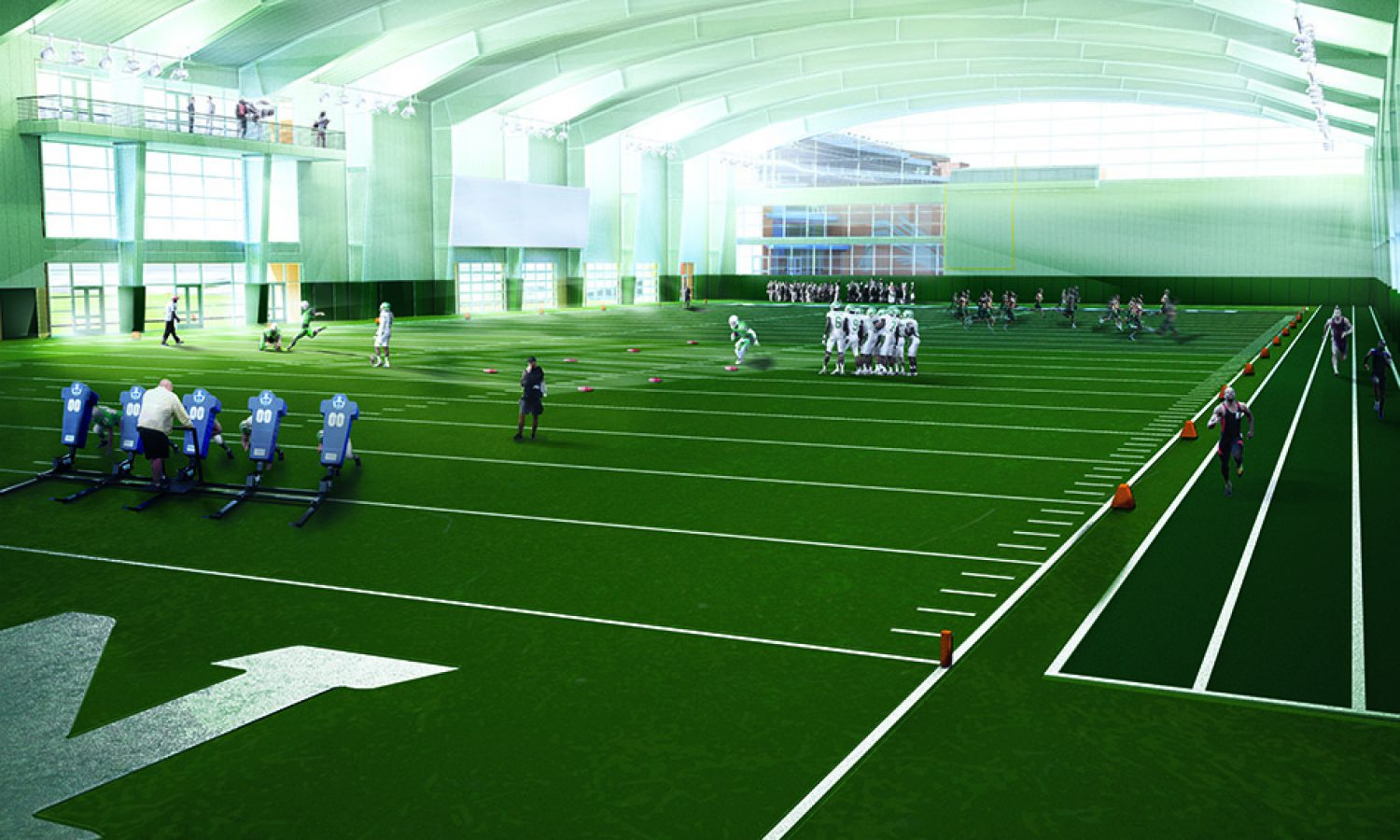 University of North Texas – Indoor Practice Facility