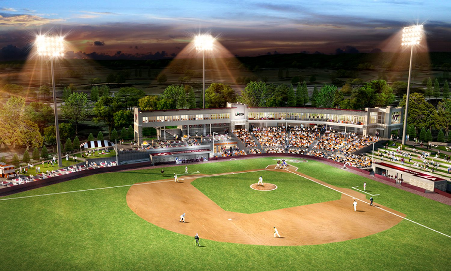Virginia Tech – Baseball Stadium Design Build Competition